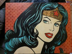 Wonder Woman painting for Sale in Austin, TX