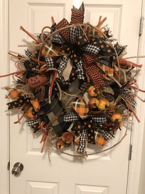 Primitive JackOLantern Halloween Wreath for Sale for sale  Apopka, FL