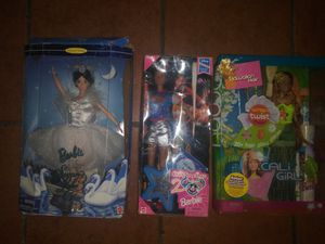 3 limited edition collectible Mattel Barbie dolls for Sale in Hawthorne, CA
