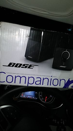 Bose Companion 2 Speaker System Series lll for Sale in Zephyrhills, FL