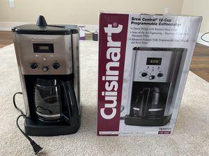 Cuisinart coffee machine Up to 12 cups for Sale in Santa Clara, CA
