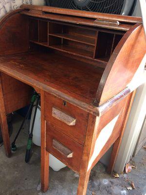 Antique Secretary Rolling Desk for Sale in Oakland, CA