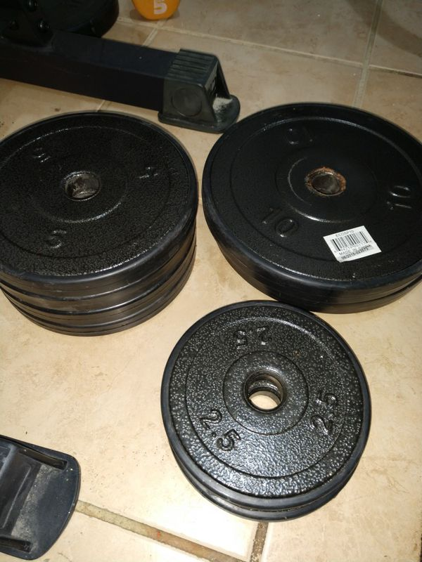 Classic Olympic Weight Plate Only