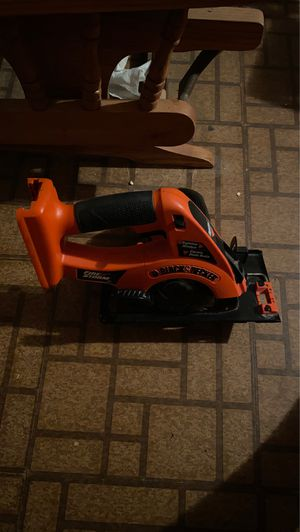 Black and decker 18v skill saw for Sale in Olin, NC