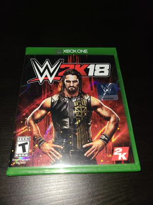 Xbox One WWE 2K18 for Sale in Montclair, CA