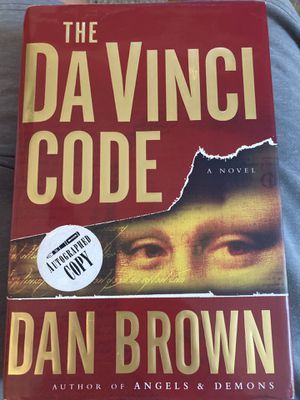 Signed The Da Vinchi Code by author Dan Brown for Sale in Harriman, NY