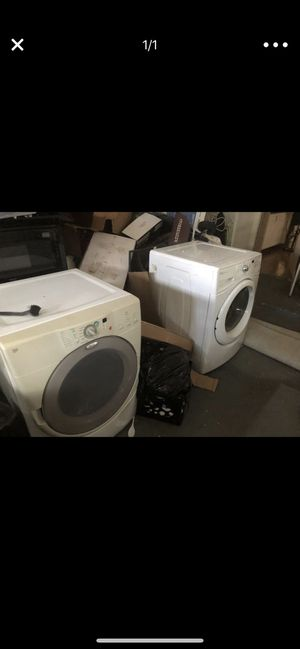 Whirlpool Duet Front Loader was her and dryer for Sale in Tampa, FL