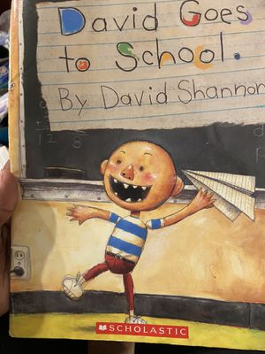 David Goes to School Book for Sale in North Potomac, MD