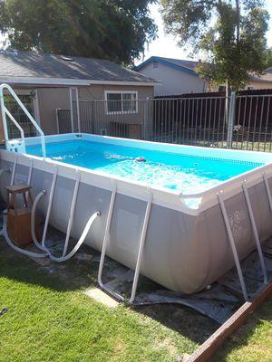 INTEX 8×16 Pool for Sale in Sacramento, CA