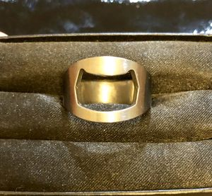 New! Men's stainless steel bottle opener ring size 12. for Sale in Tolleson, AZ
