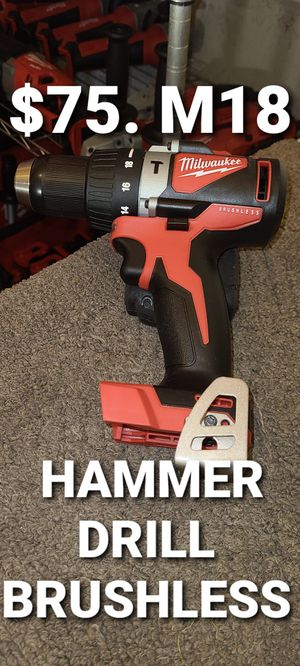 Milwaukee hammer drill brushless for Sale in Fontana, CA