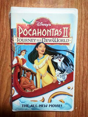 Brand New and Sealed, Disney's Pocahontas II Journey To A New World, VHS for Sale in Douglasville, GA