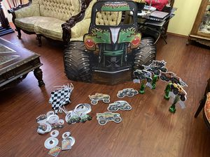 Grave digger Party decoration for Sale in Fontana, CA