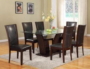 [SPECIAL] Camelia Brotrwn Rectangular Dining Set | 1210 for Sale in Jessup, MD