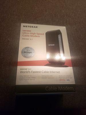 Netgear CM1000 modem for Sale in Houston, TX