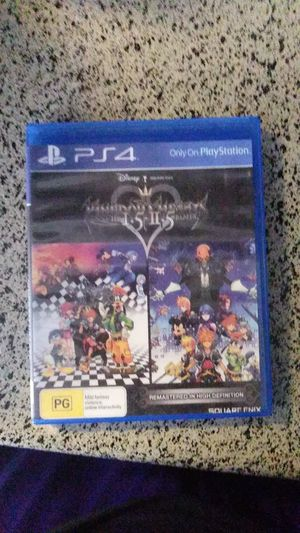 PS4 Kingdom hearts 1.5+2.5 remix for Sale in Carrollton, TX