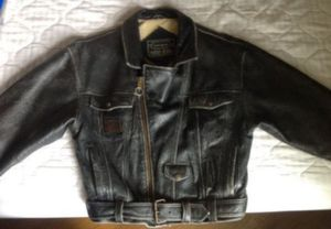 Leather Motorcycle Jacket size S for Sale in Norco, CA