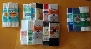 Vintage Seam Binding Tape, Bias Tape, Rick Rack. Zippers for Sale in East Wenatchee, WA