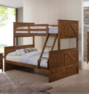 TWIN OVER FULL SIZE BUNK BED for Sale in Phoenix, AZ