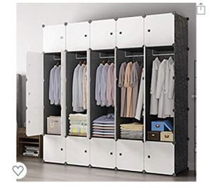 Portable closet 25 cubes for Sale in Riverside, CA