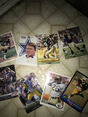 Football cards for Sale in Dallas, TX