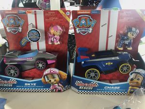 Paw patrol chase and skye new for Sale in Atlanta, GA