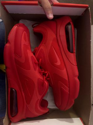 Air max 200 gym red (Jordan,Nike,adidas and more check my page out) for Sale in Boca Raton, FL