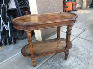 Antique side table with 2 chairs for Sale in Fresno, CA