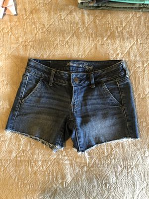 American Eagle Denim Shorts - Size 00 for Sale in Watauga, TX