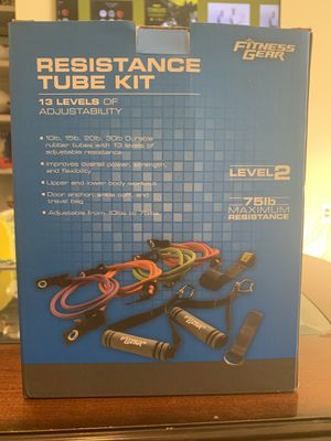 Fitness Gear — Resistance Tube Kit for Sale in Apex, NC