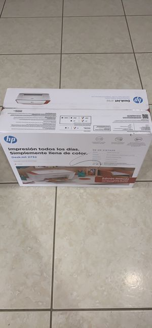 New WiFi Color HP printer comes with subscription to get 6 months of FREE ink!!! for Sale in Palmetto Bay, FL