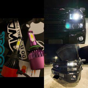 Car led headlights kit leds kits are super bright lights H1 H7 H8 H9 H10 H11 9003 9005 9006 9007 H13 880 9145 9140 5202 for Sale in San Bernardino, CA