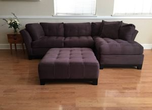 Rooms to Go Couch and Ottoman for Sale in Tampa, FL
