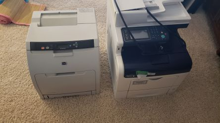 2 office printers Great Condition WorkCentre 6605 Print Copy Fax Scan and Q5987A - HP Color LaserJet 3600n Printer for Sale in Madison,  NJ