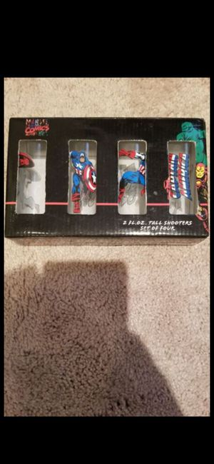 MARVEL SHOT GLASSES for Sale in Delray Beach, FL