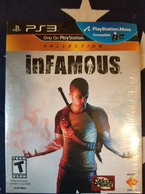 Infamous NEW (PS3) for Sale in US