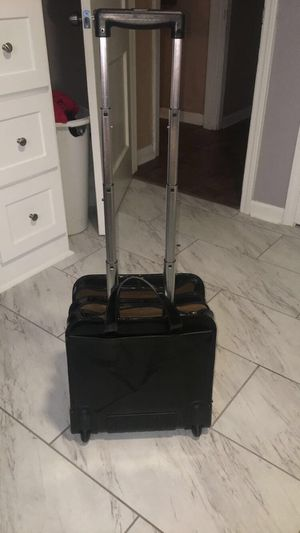 Black Patent Leather Rolling Bag for Sale in San Antonio, TX