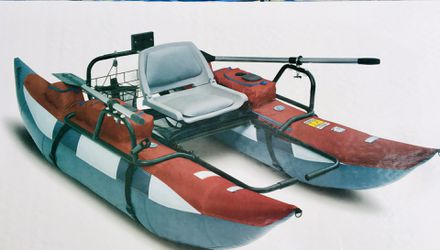 """9 Foot Fishing Pontoon Boat """" Classic Accessories"""" Brand for Sale in Rivergrove,  OR"""