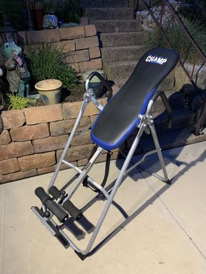 Pick up today Like new inversion table for Sale in Monroeville, PA
