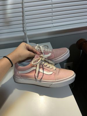 Baby Pink Vans 5.5y for Sale in Colesville, MD