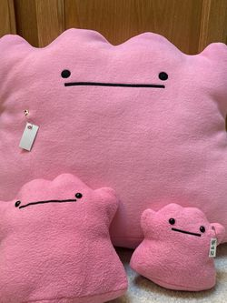 Ditto Plush Plushies Handmade Stuffed Pokémon Huge Large for Sale in Issaquah,  WA