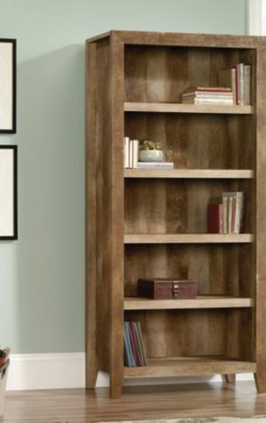 New!! Bookcase, bookshelves, 5 shelves organizer, shelving display, organizer, storage unit, living room furniture, oak for Sale in Phoenix, AZ