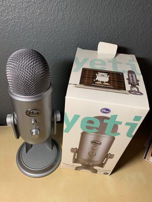Blue Yeti Microphone for Sale in San Antonio, TX