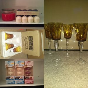 Candles votives tealights wax candle holders stands for Sale in Marietta, GA