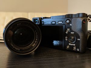 Sony Alpha A6000 with 18-55mm lens, camera bag and UV filter for Sale in Alexandria, VA