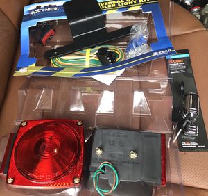 New trailer wire kit and trailer lock for Sale in Austin, TX