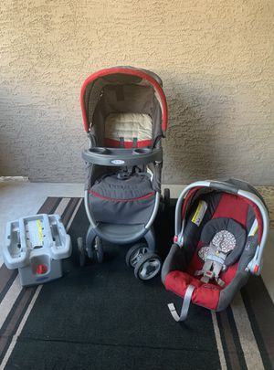 Graco Baby Car Seat with Base and Stroller for Sale in Phoenix, AZ