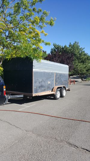 7×14 enclosed trailer water proof for Sale in Fresno, CA