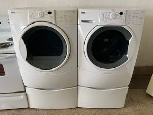 📢📢Kenmore Washer Electric Dryer Set Delivery Available Front Load #1436📢📢 for Sale in Baltimore, MD