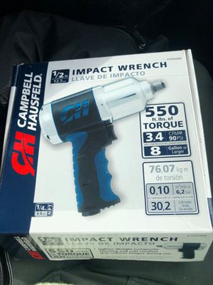 Campbell Hausfeld 1/2 in impact wrench for Sale in Dixon, CA